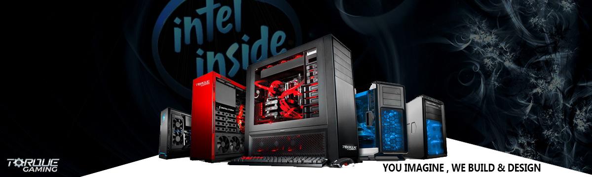 Liquid Cooled Intel Gaming PCs