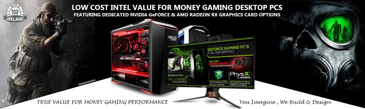 Intel Gaming Desktop PCs
