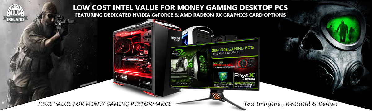Intel Core i3 Gaming PCs