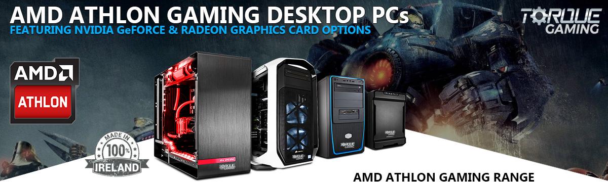 AMD Athlon 3000G Gaming PCs