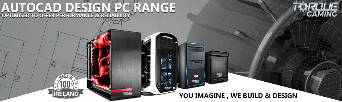 CAD 3D PCs & Workstations