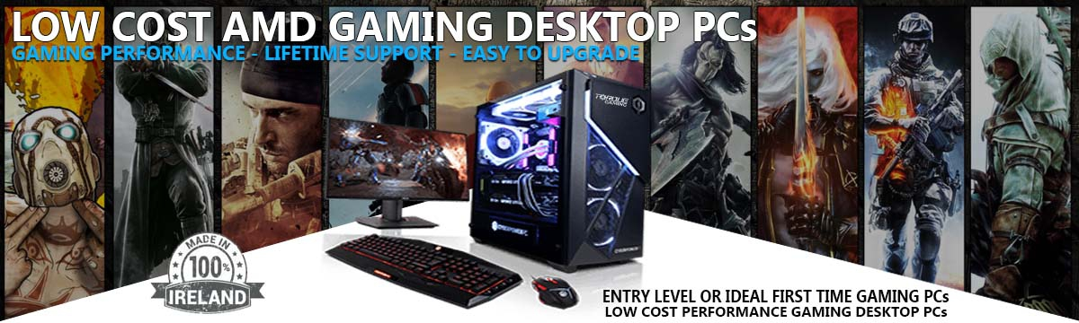 Low Cost AMD Gaming PCs