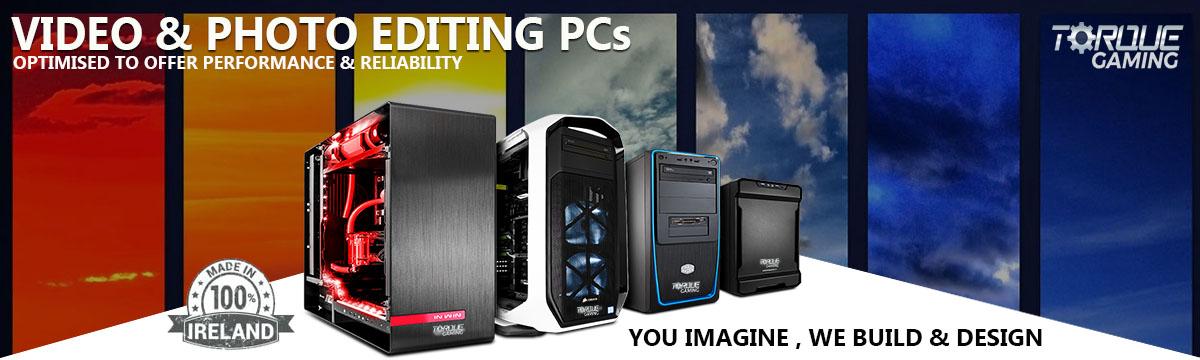 Video Editing Desktop PCs