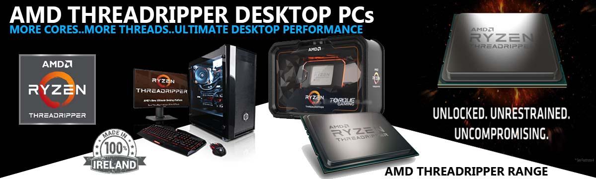 AMD Threadripper PCs